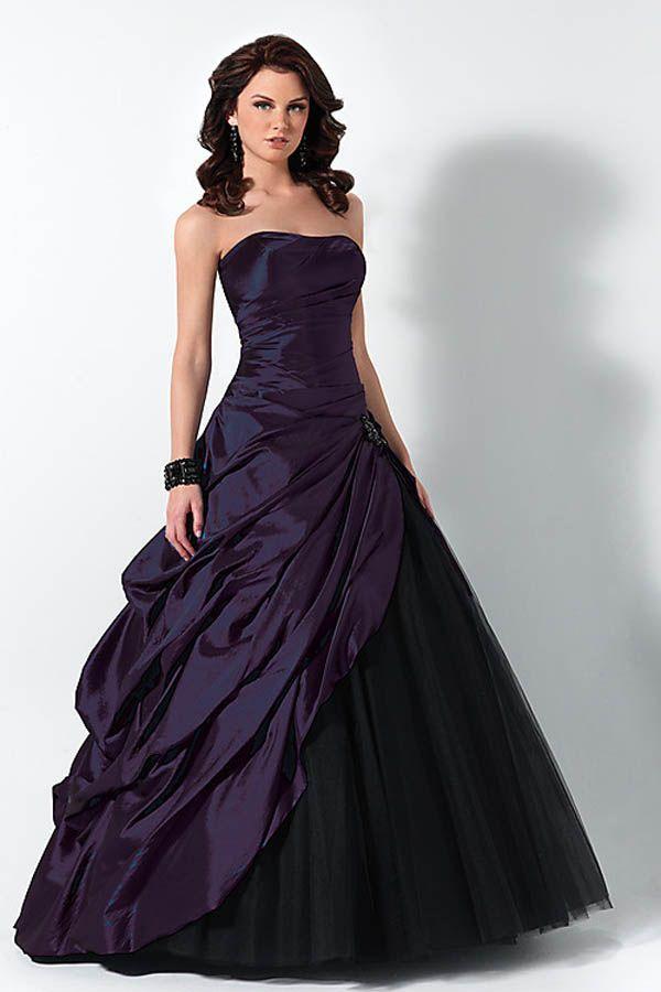 Purple Wedding Gown Dress | ballkleid 2015 ~ Mode Kleidung 2015 ...