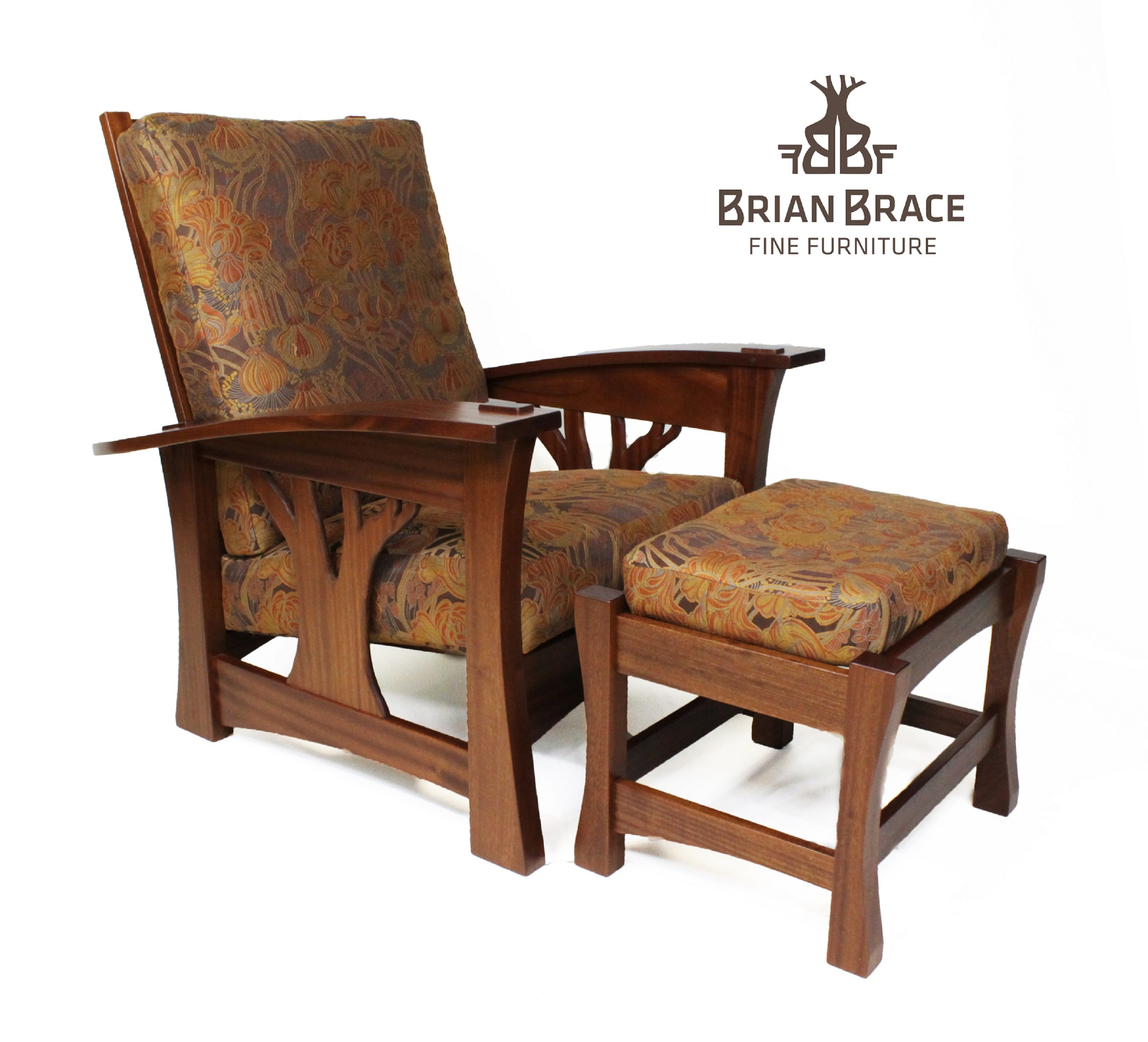 Furniture For Sale   Arbor Morris Chair In Sapele With Ottoman By Brian  Brace Fine Furniture At ArtsyHome