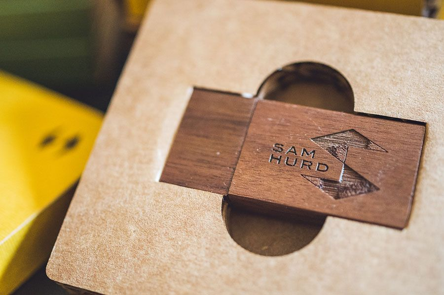 Sam Hurd Photography Packaging