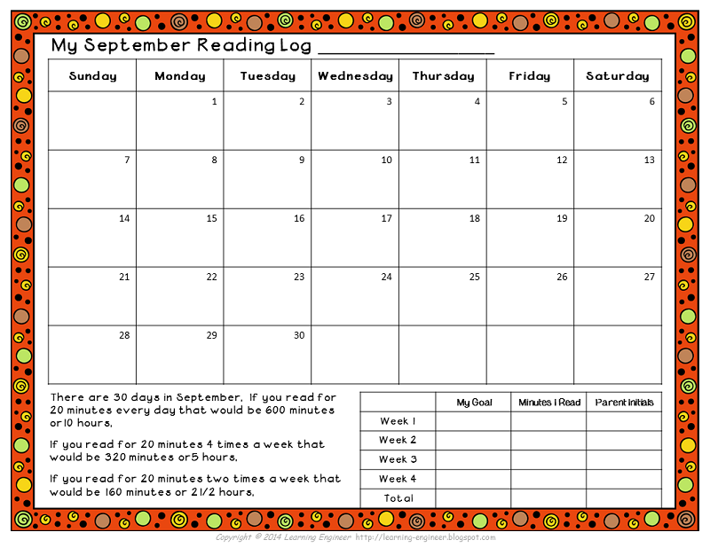 Looking For a Homework Reading Log? Reading logs