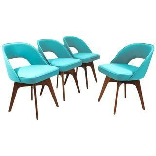 Chet Beardsley Swivel Dining Chairs - Set of 4
