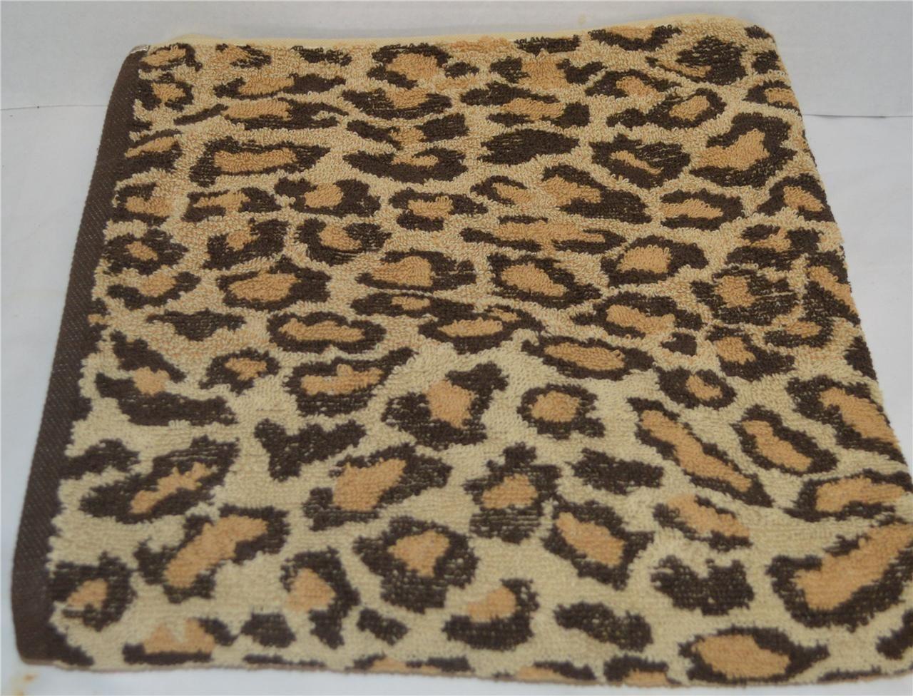 Ralph Lauren Venedik Mahkemesi Leopard Banyo Havlu El
