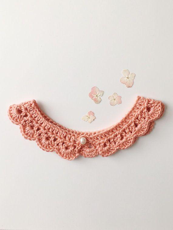 Peter Pan Collar Crochet Pattern, Lace Collar Necklace, Peter Pan ...