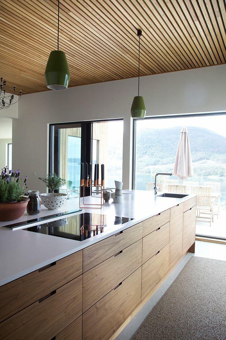 Hamran + Tingbø Valnøtt. Kitchen · Moderne KücheEinrichten ...