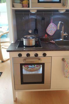 Anleitung mit Materialliste! Ikea DUKTIG Spielküche | Kinderküche in ...