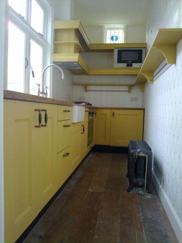 Keuken jaren 60 stijl op maat gemaakt door kbos timmerwerken interieurs jaren 50 pinterest - Mode keuken deco ...