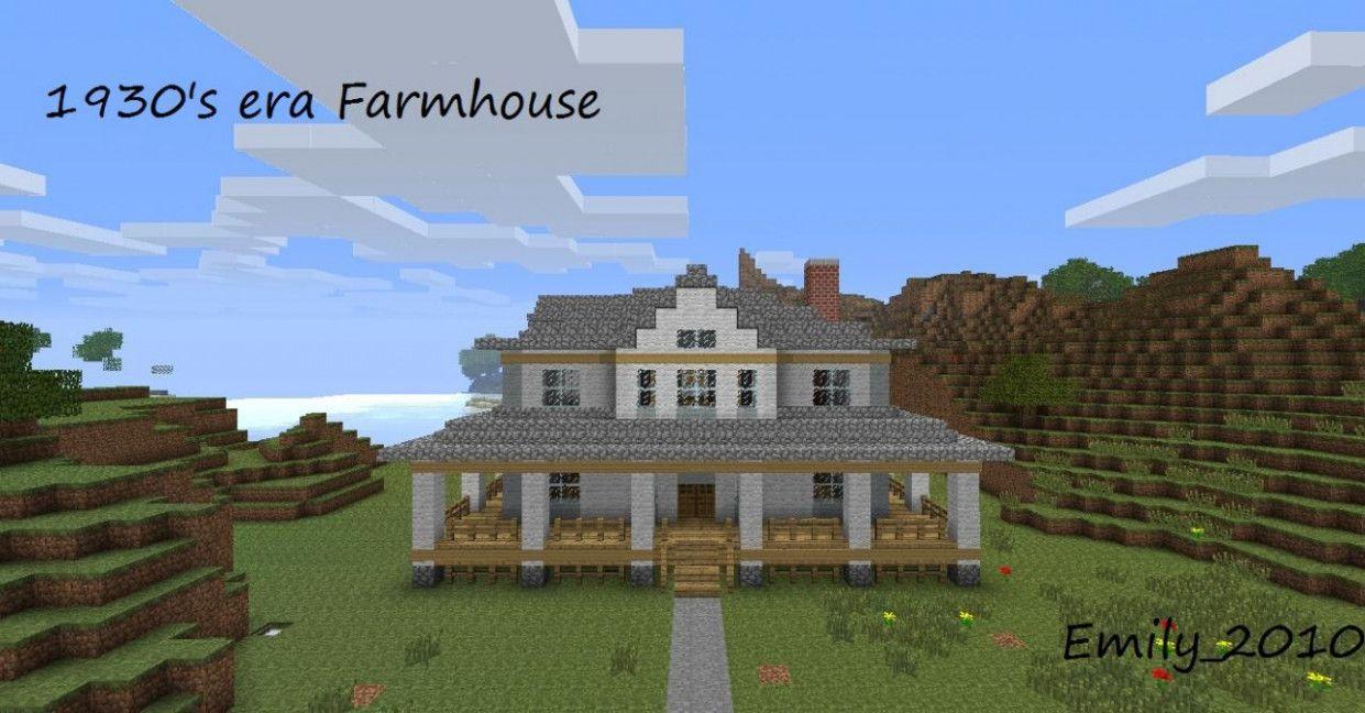 Farmhouse Ideas Minecraft Minecraft Farm House Minecraft Farm Minecraft House Designs