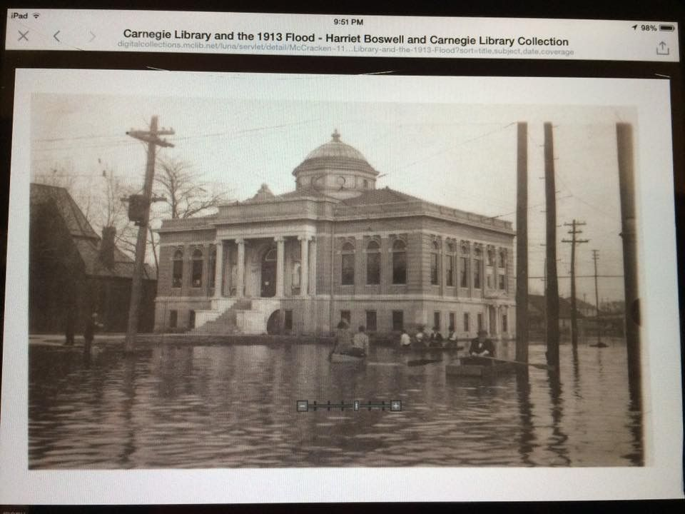 Carnegie Library 1913 Flood Historical Architecture Places To Visit Paducah
