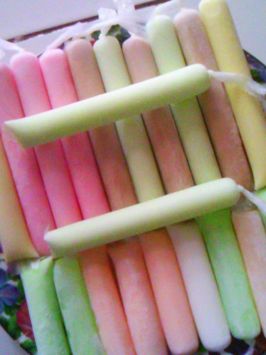 Resep Rainbow Ice Es Lilin Pelangi Oleh Ny Herry Resep Lilin Resep Makanan