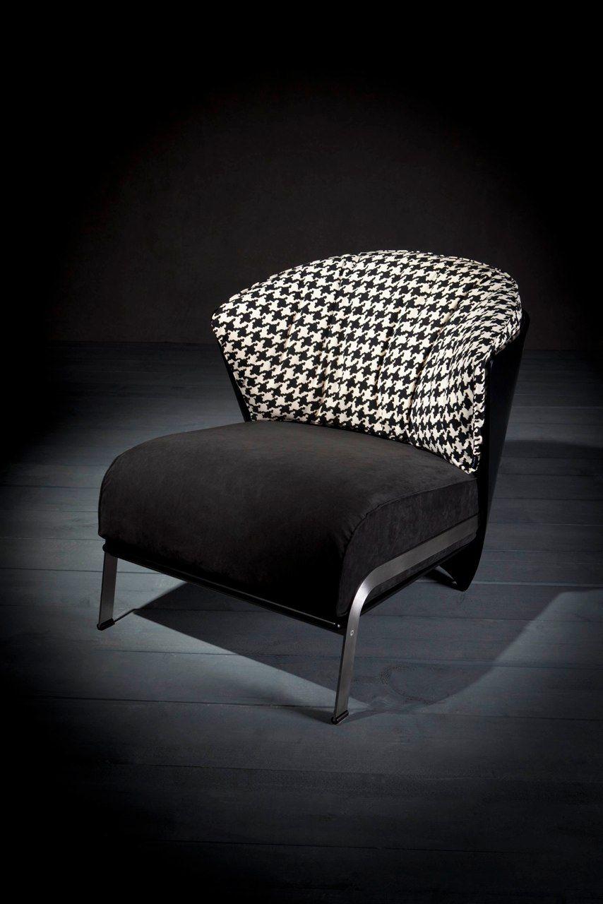 Unicorno elba chair in alcantara per rilassarsi chair sofa e sofa chair - Mobili design occasione ...