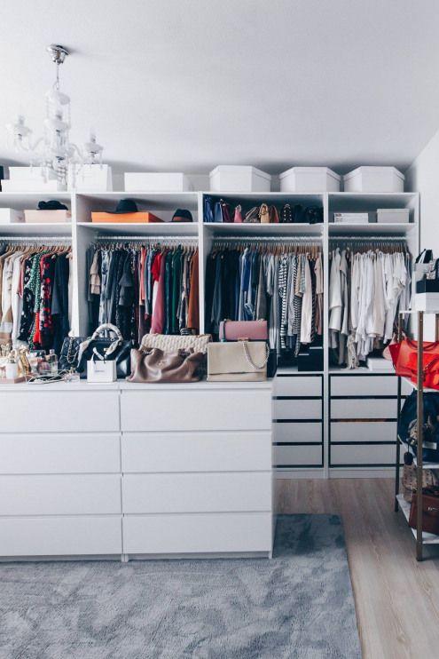Ankleideraum Planen Einrichten Und Gestalten Ankleidezimmer Ideen Begehbarer Kleiderschrank Ikea Pax Planen Ikea Pax E Ikea Closet Closet Layout Closet Bedroom