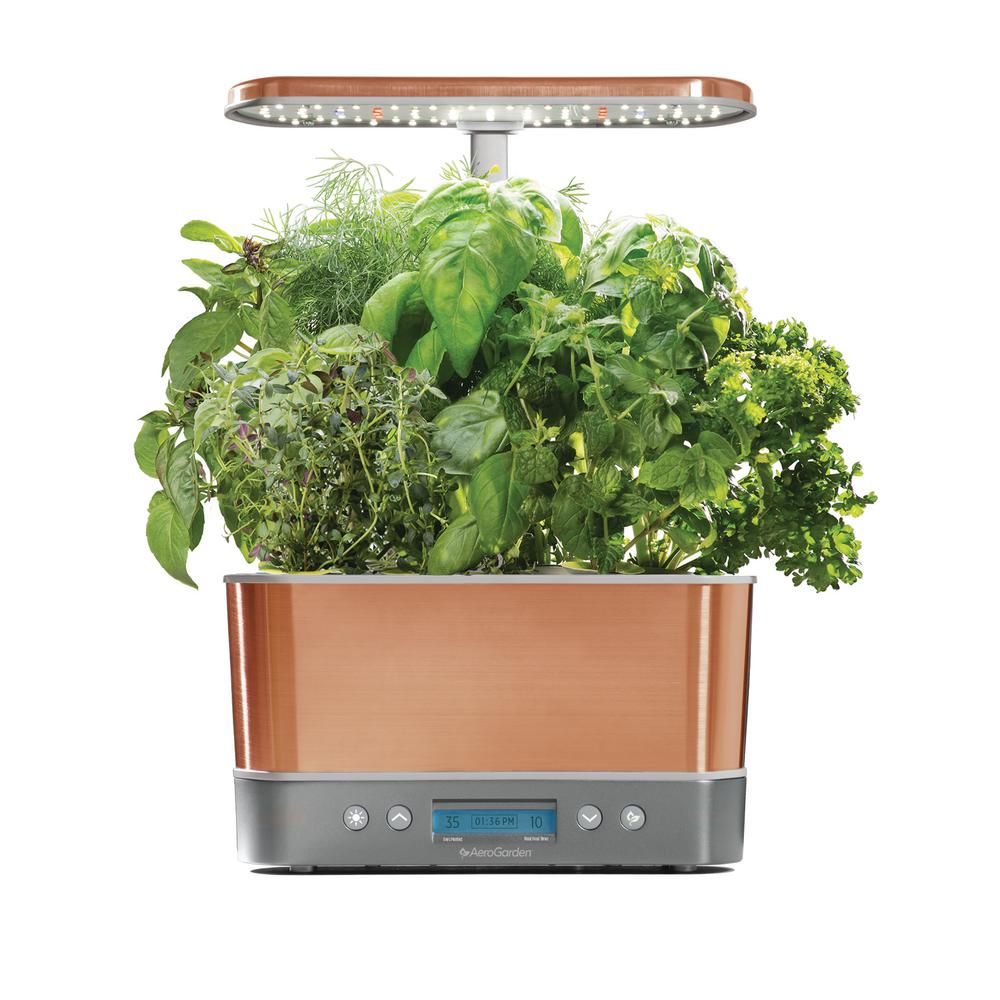 Aerogarden Harvest Elite Copper With Seed Starting System 400 x 300