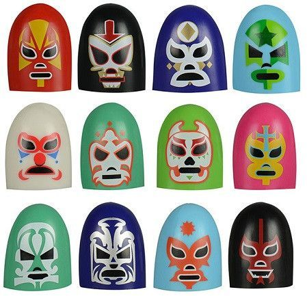 Mexican Thumb Wrestling Set Lucha Libre Miniature Editions
