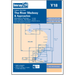 Imray Chart Y18 River Medway Sheerness To Rochester With River Thames Medway Ipswich River Thames