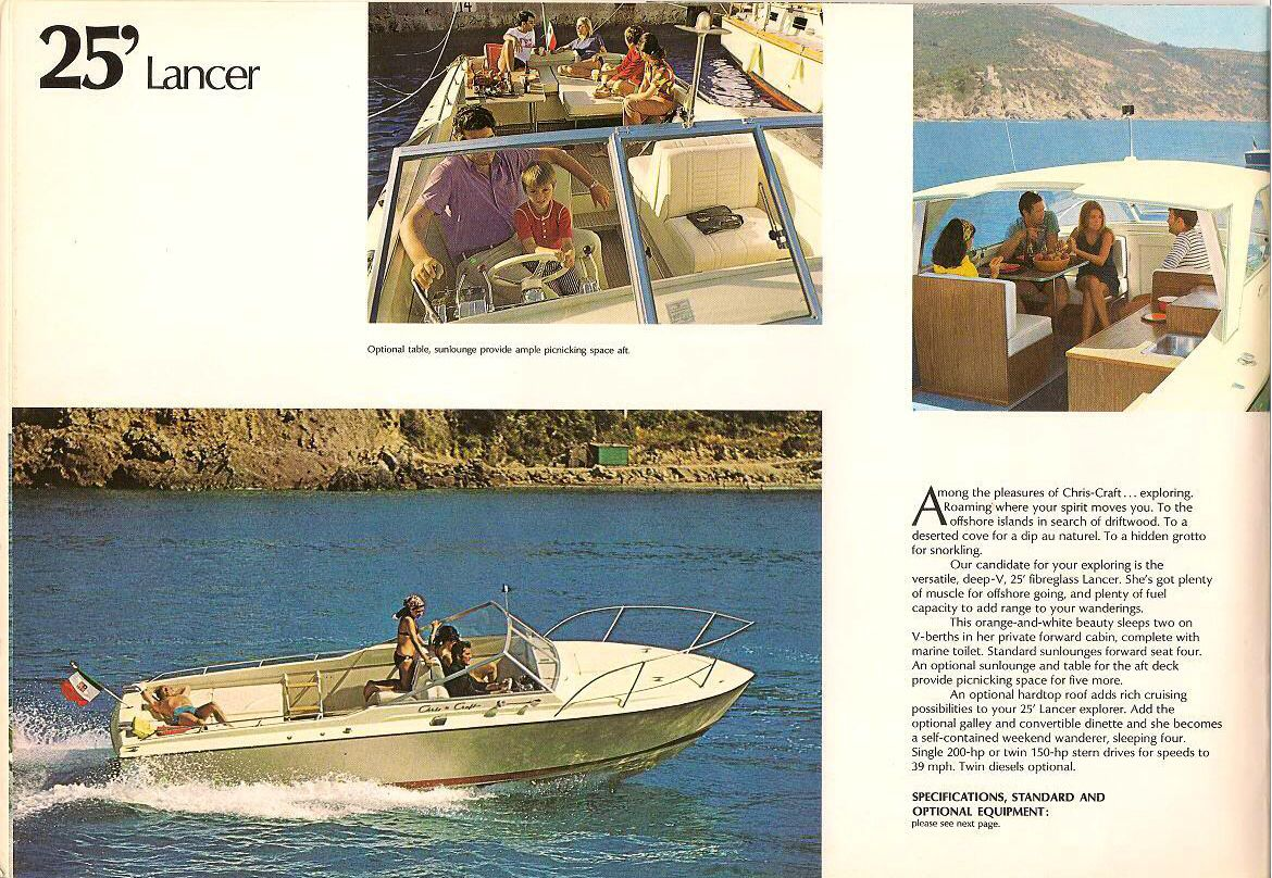 chris craft lancer 25 record chris craft, vintage boats, boat stuff, cars  and