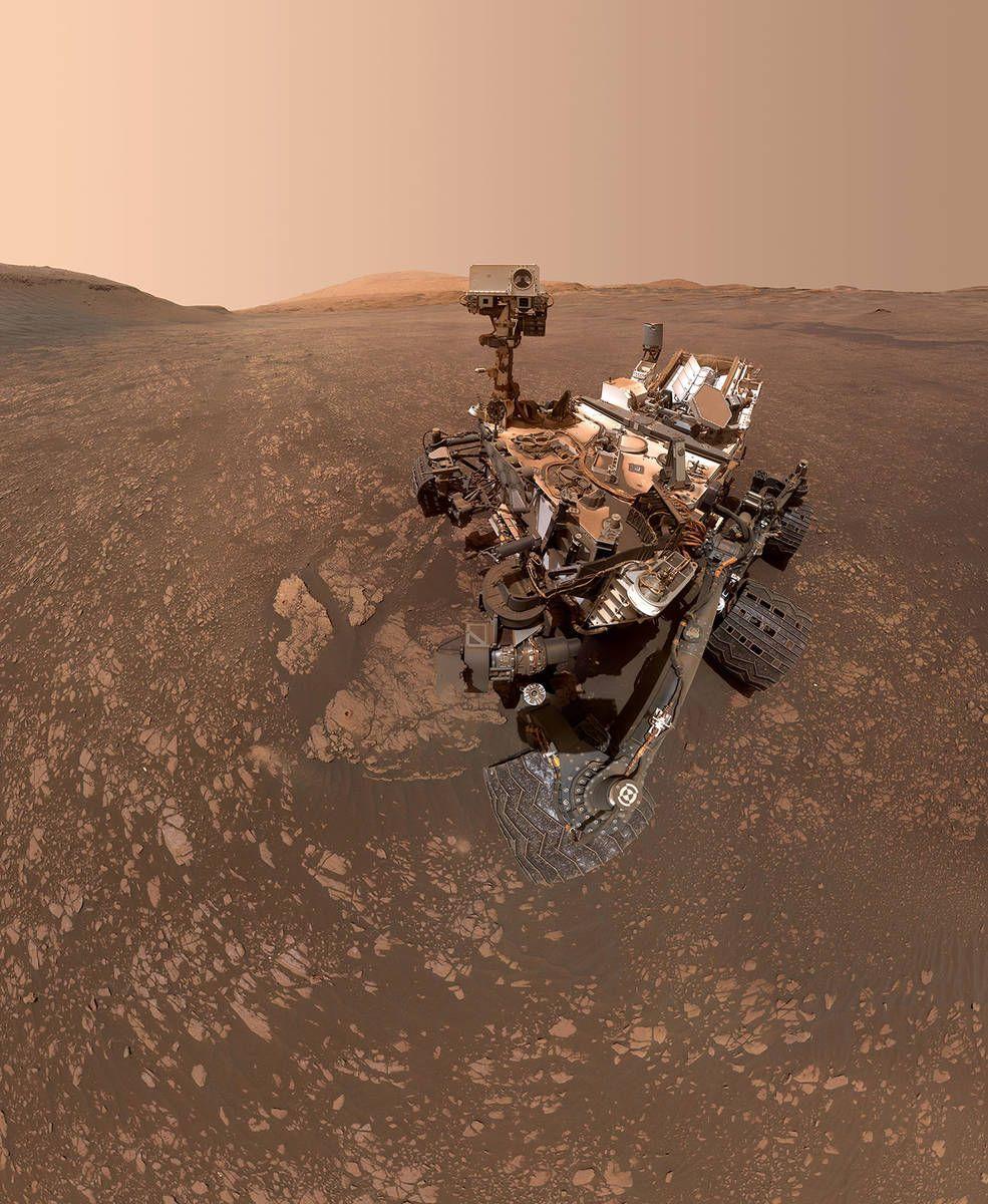Nasa S Curiosity Mars Rover Finds A Clay Cache Nasa Curiosity Mars Curiosity Rover Space And Astronomy