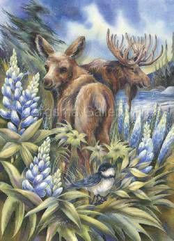 'Easily A' Moose'd' - Prints