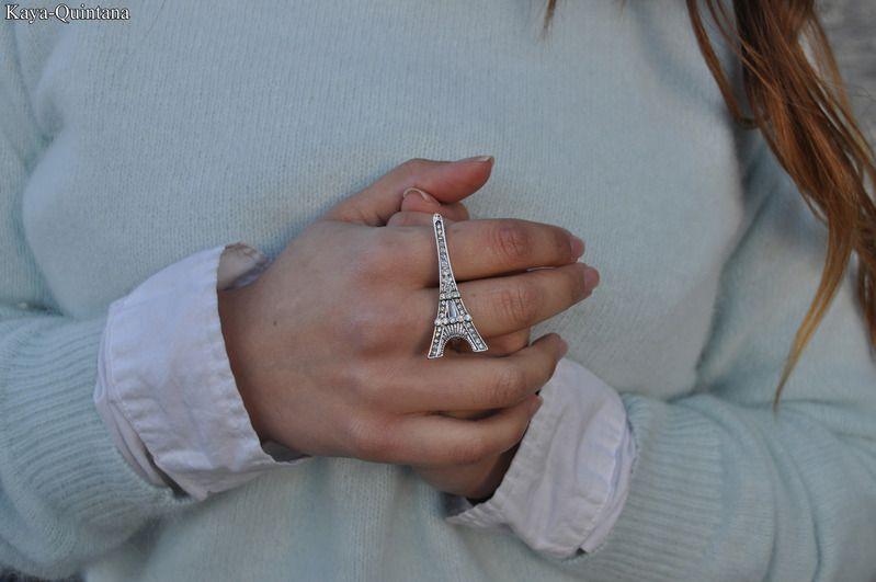 eifel toren dubbel ring