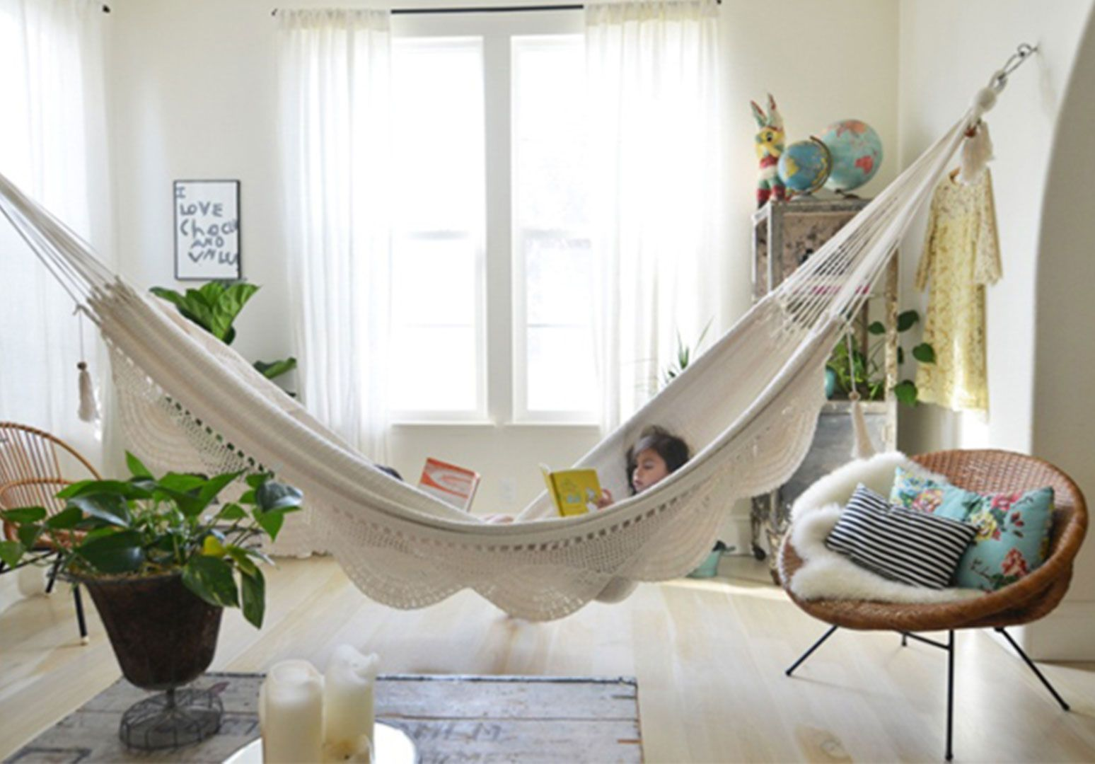 Hammock installation google search backyard and porch
