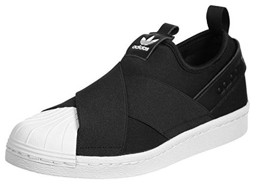 adidas Superstar Slip On Damen Sneakers Schwarz:
