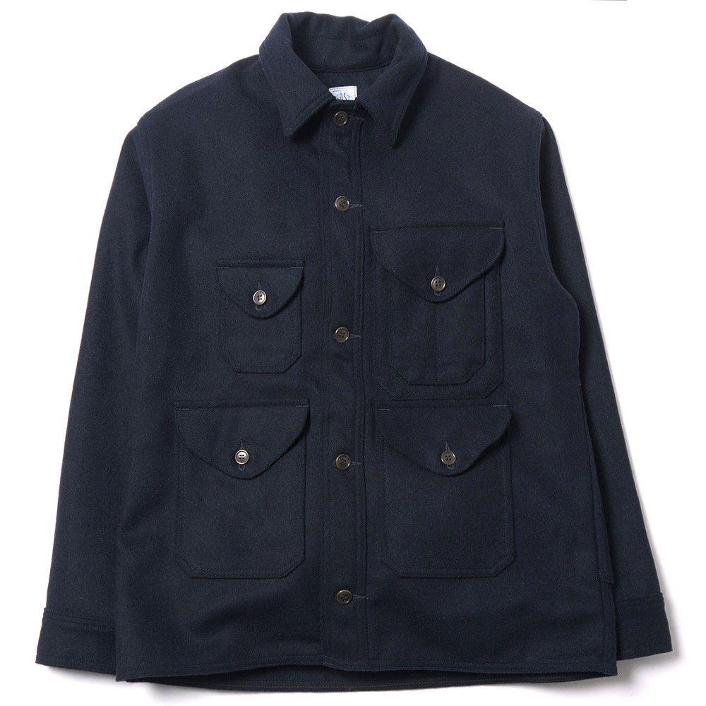 POST OVERALLS Wool Melton Cruzer5 Jacket