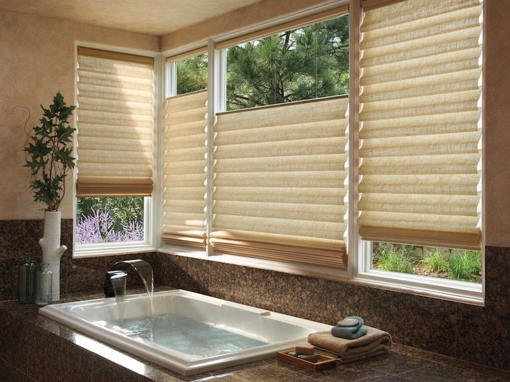 Top Down Bottom Up Shades In 2020 Bathroom Window Treatments