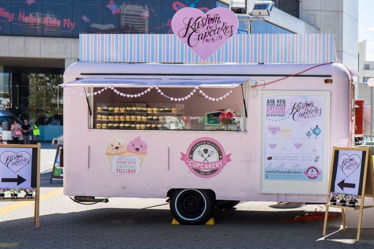 Food Inspiration Cupcake Truck Google Search