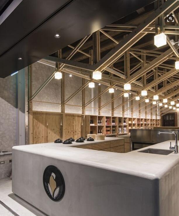 Lighting Store, Restaurant Design
