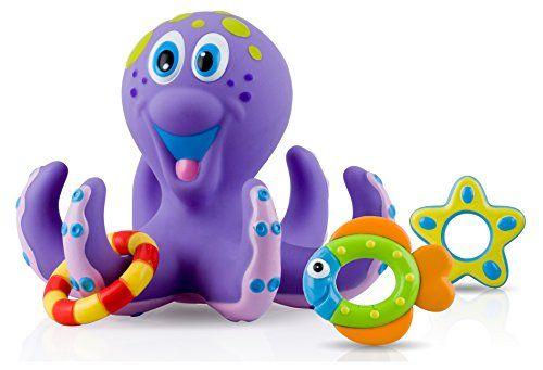 Awesome Nuby Octopus Hoopta Juguete Para El Bano 6144 Mas