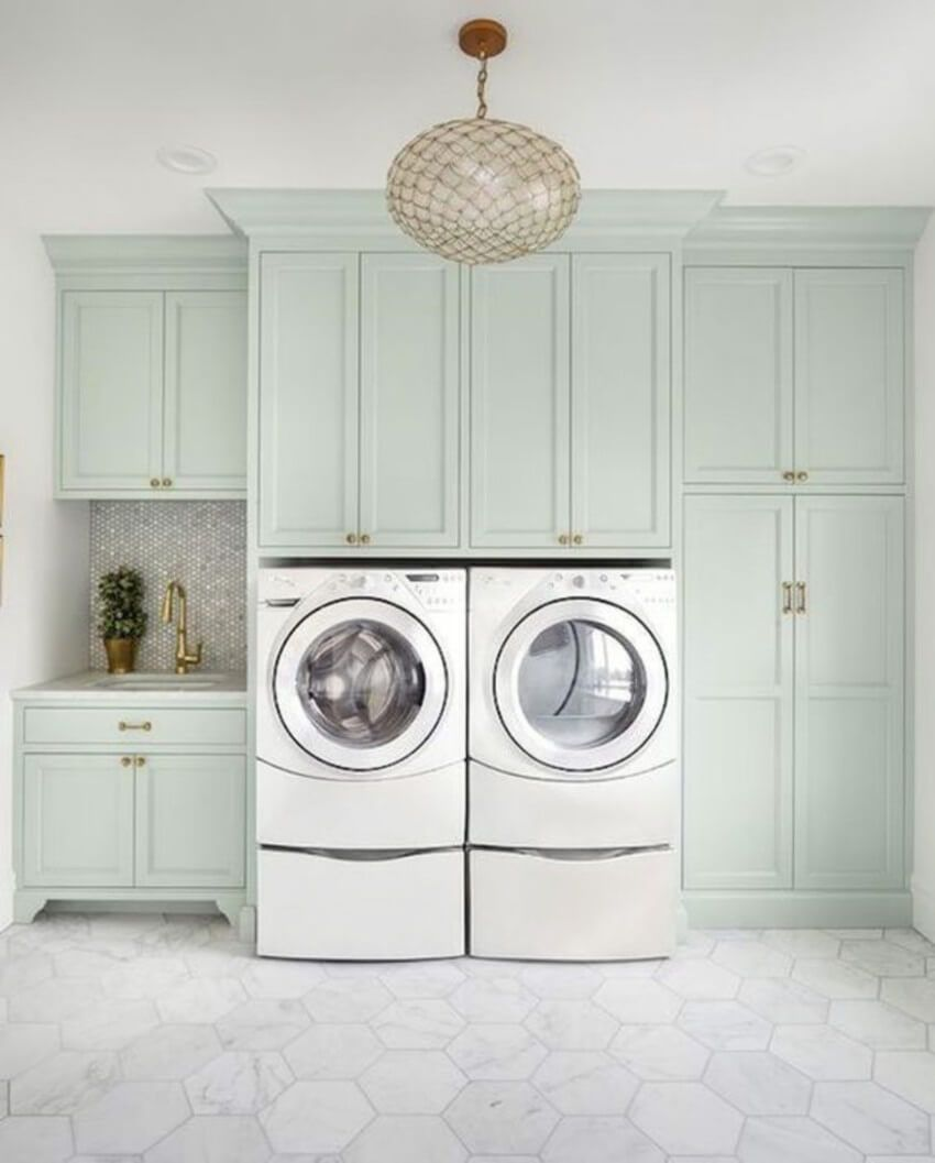 How To Hire A Cabinet Company For The First Time Laundry Room