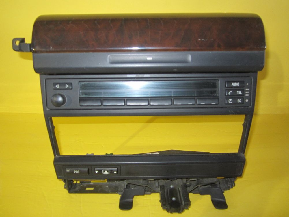 96 01 Bmw E38 740i 740il 750il E38 Radio Display With Wood Trim