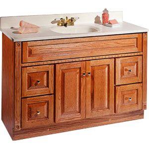 "useful - raised height bath vanity ""look""   Vanity, Bath ..."