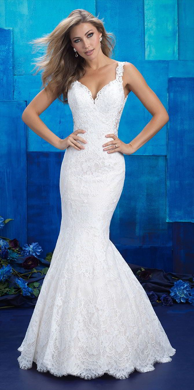 Allure bridals spring wedding dresses allure bridal lace
