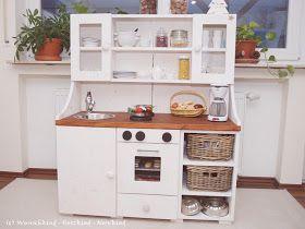 Bon Kinderküche Selbstgemacht, Spielküche Selbstgemacht, Kinderküche Aus Holz,  Spielküche Aus Holz, DIY Kinderküche