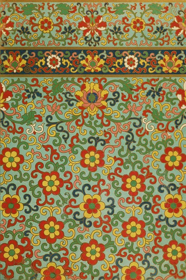 Free Vintage Wallpaper - Chinese Pattern Ornament No. 1