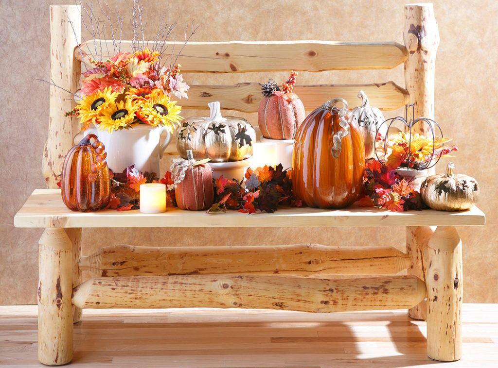 Harvest Decor Traditional or Contemporary Fall harvest