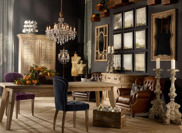 20 Creative And Inspiring Eclectic Vintage Room Designs By Timothy