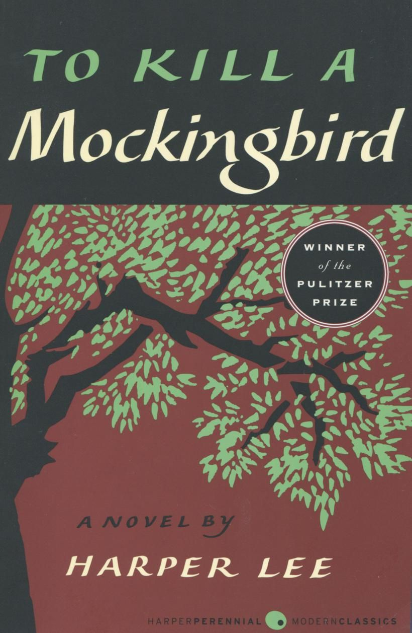 To Kill a Mockingbird cover 100 best books, Book club