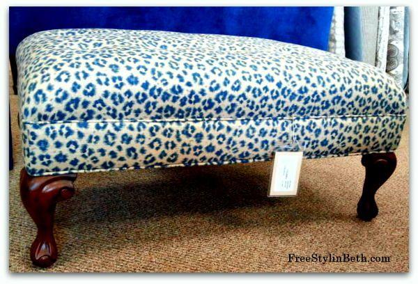 teal cheetah print ottoman | Family Room | Pinterest | Teal ...