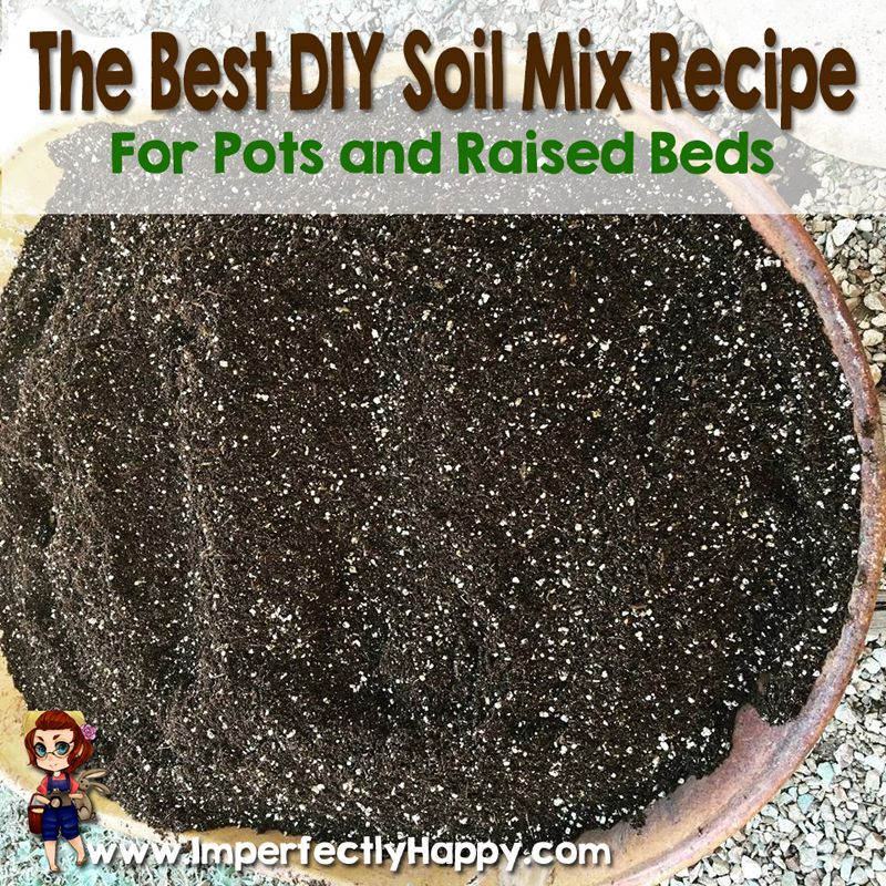 Raised Planter Box Soil Mix