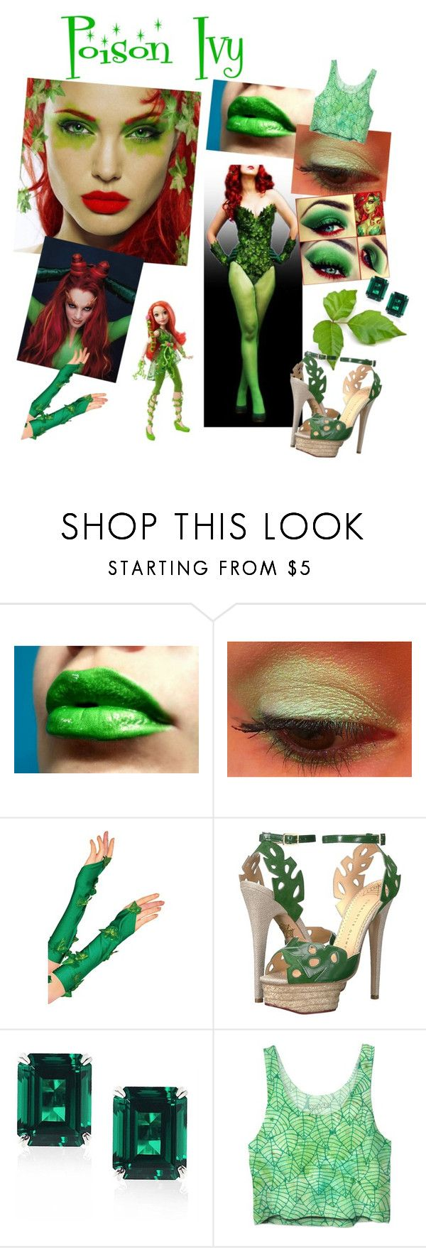 """""""Poison Ivy"""" by bitty-junkkitty ❤ liked on Polyvore featuring Charlotte Olympia and CARAT* London"""