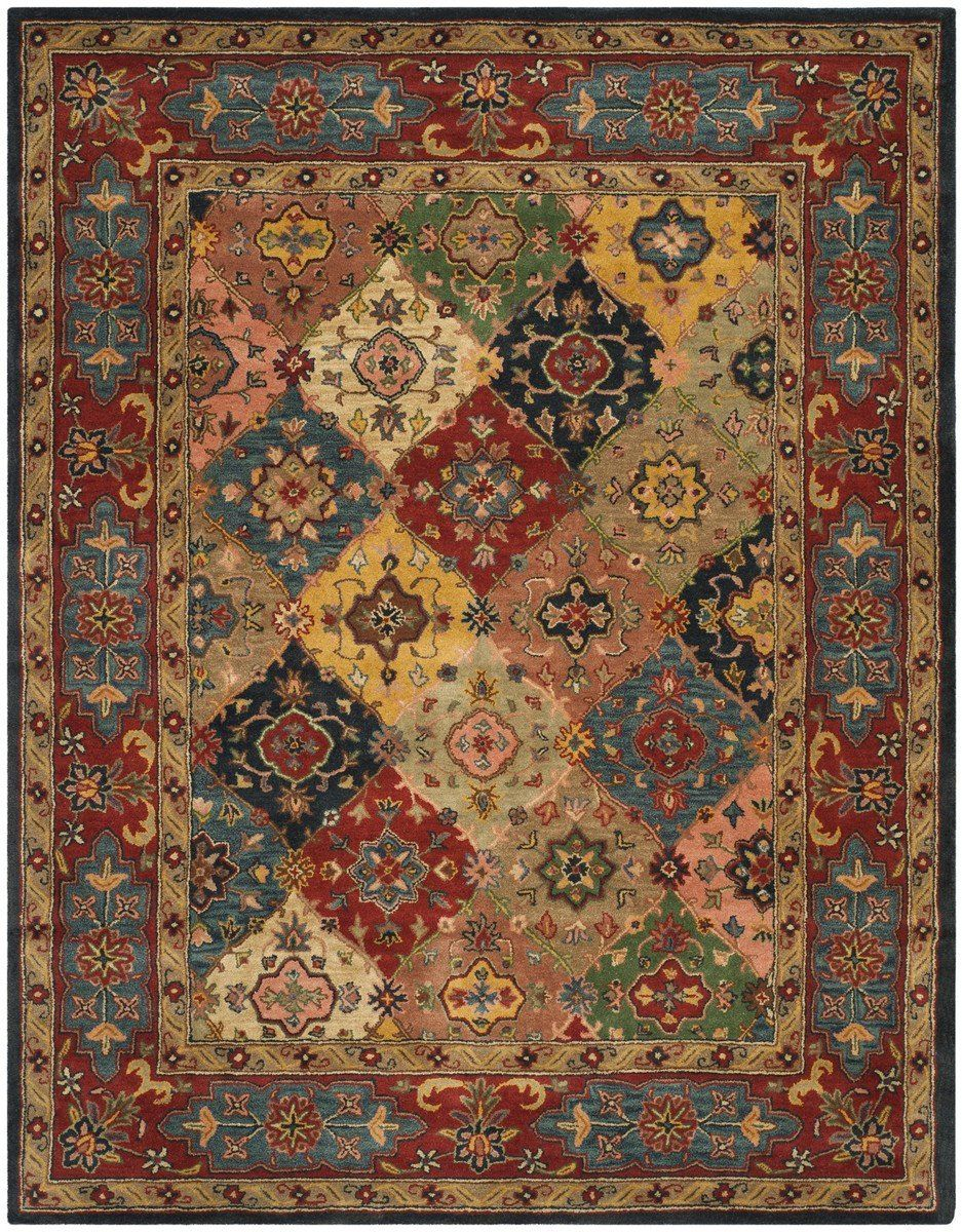 Safavieh Heritage Hg926a Red Multi Rug Red Traditional Rugs
