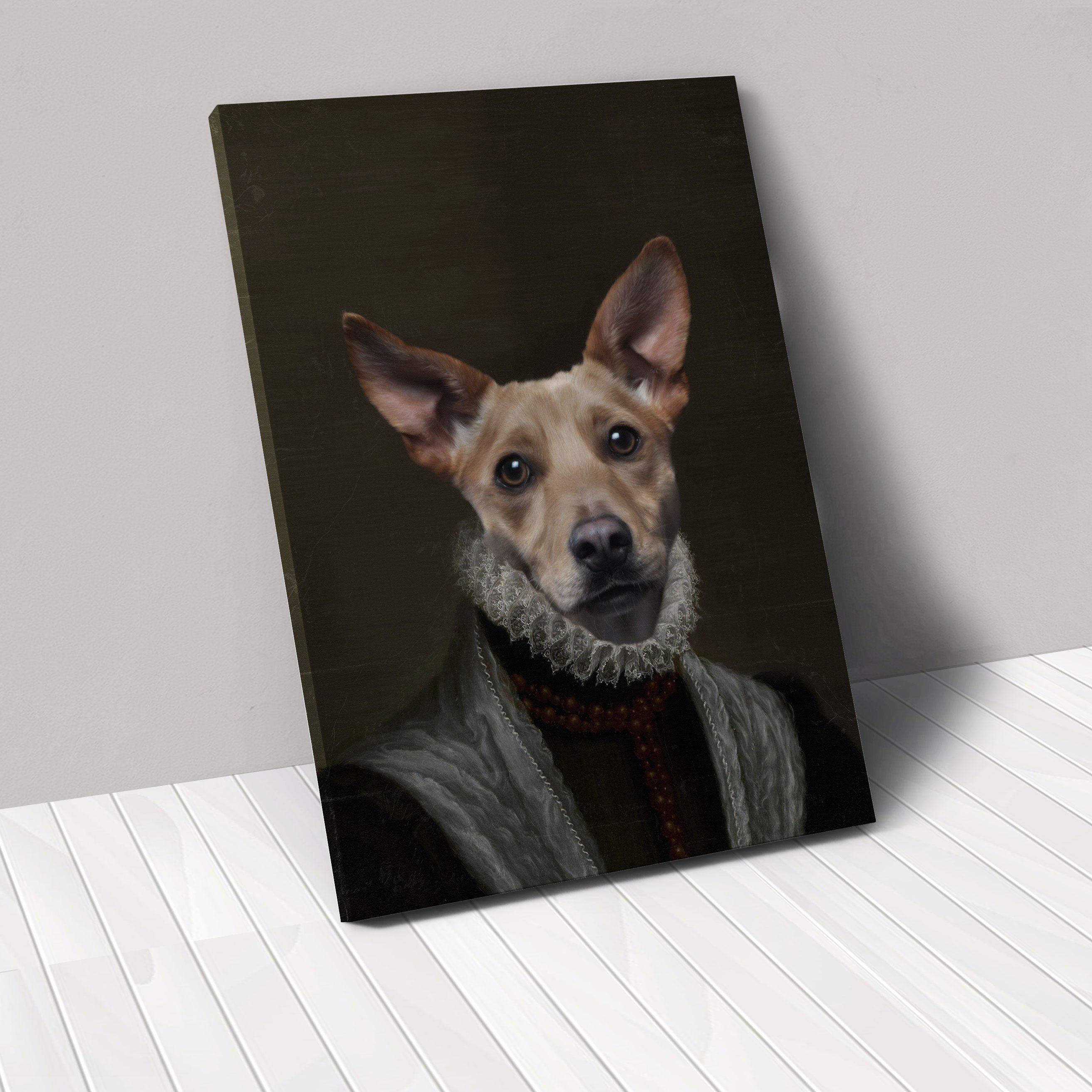 The Princess Custom Pet Art Animals Artwork Love Your Pet