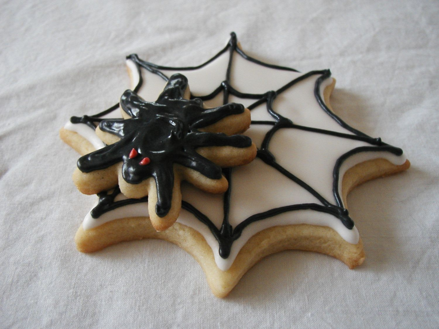 Spider Cookies  on Cake Central