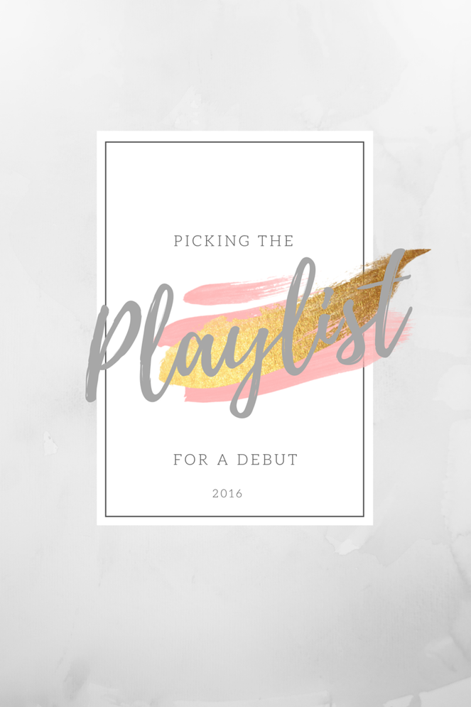 2016 Debut Playlist #debutideas