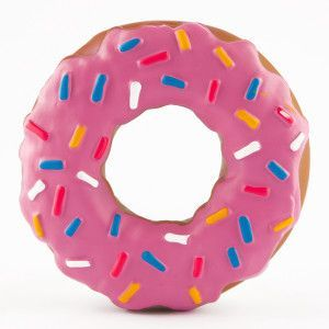 Dog Toys That Look Like Doughnuts Grreat Choice Frosted Pink
