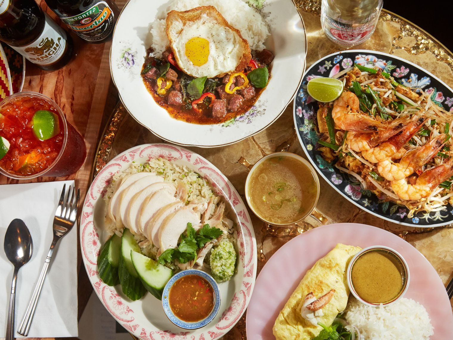 21 Thrilling Thai Restaurants Open For Takeout And Delivery In Nyc Nyc Food Tasty Thai Restaurant Recipes