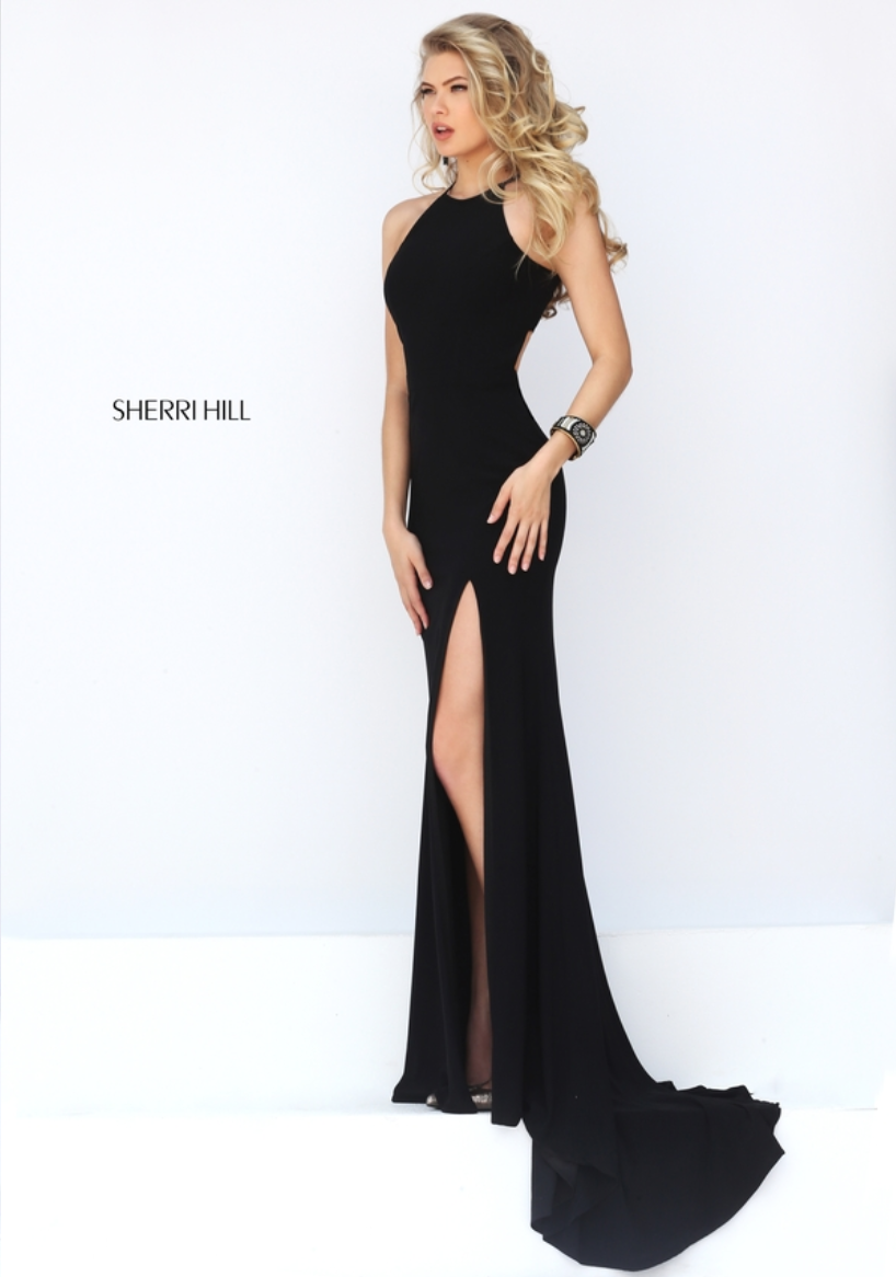 Sherri hill black tie event pinterest prom formal and