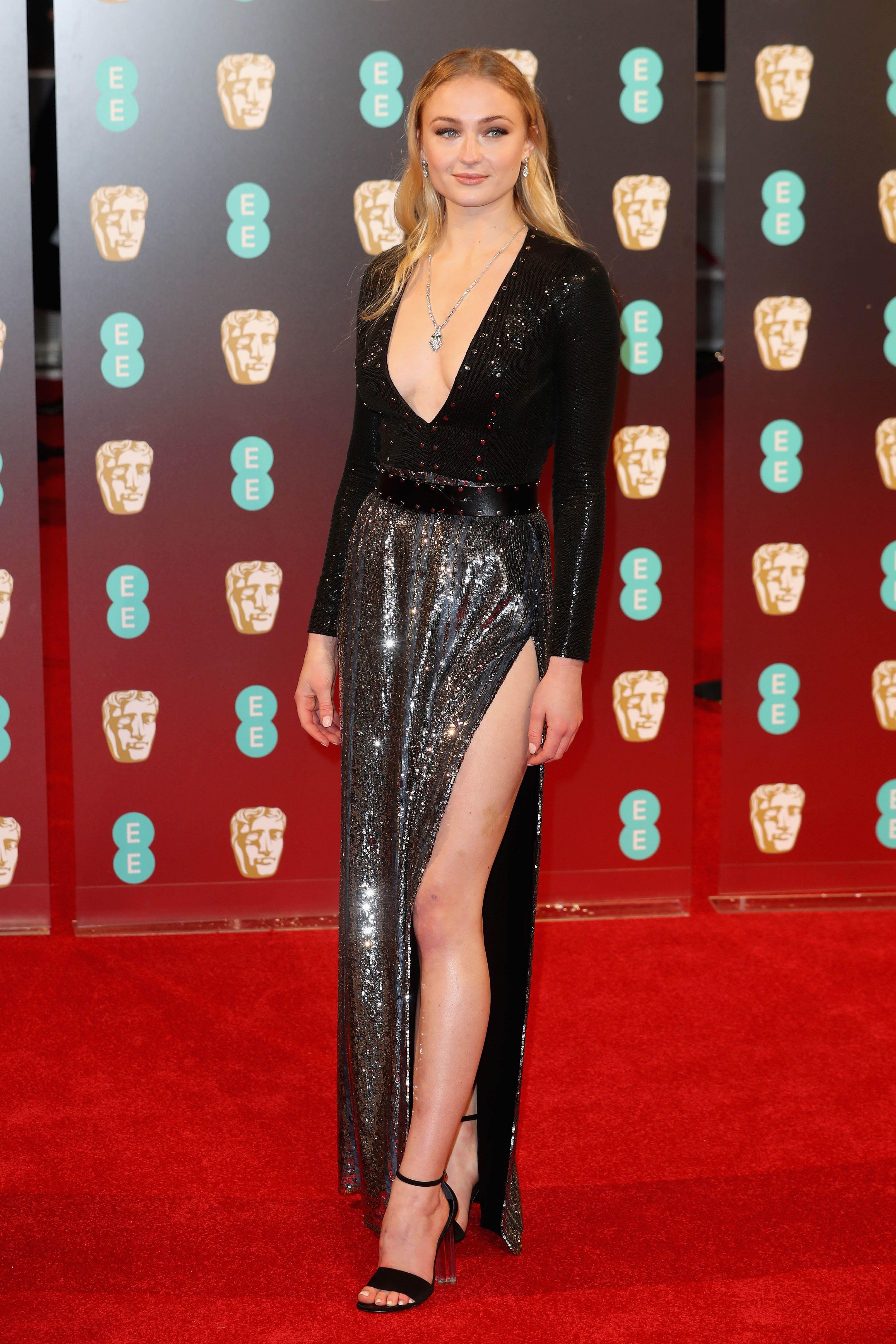 Sophie Turner Ee British Academy Film Awards Nice Dresses Red Carpet Dresses Dresses