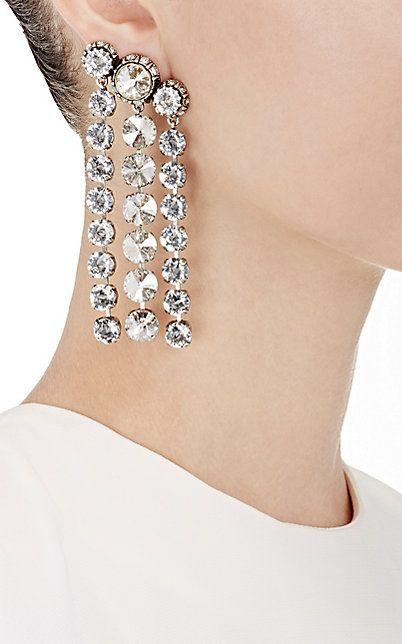 Lanvin Long Earrings With Clips sb3RrBbGX